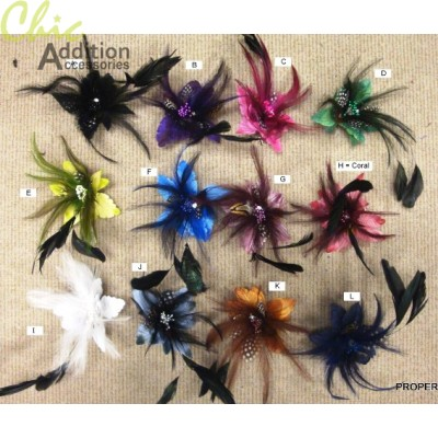 Feather Clips 03333